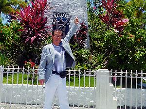 セブ島体験談「セブの真っ赤な夕日に歓迎される」のイメージ画像
