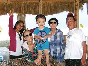 セブ島体験談「孫と娘夫婦と老夫婦」のイメージ画像