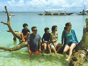 セブ島体験談青い海と青い空、セブ島のイメージ画像
