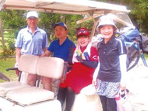 セブ島体験談家族4人、セブでゴルフ!!のイメージ画像