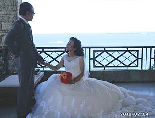 セブで「最高の結婚式」