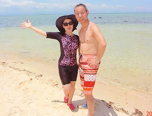 セブ島体験談「日焼けにご注意」のイメージ画像